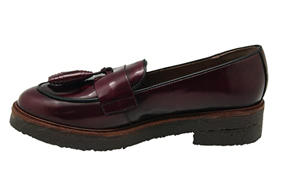 Wonders Women's C-4001 Boat Shoes burgundy Size: 5.5-6: Amazon.co.uk: Shoes  & Bags