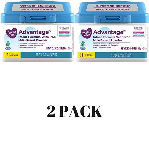 Parent's Choice Infant Formula With Iron Advantage 23.2 ounce (2 -