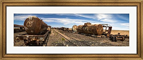 Train Cemetery, Salar De Uyuni, Altiplano, Bolivia by Panora