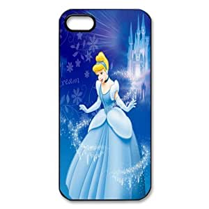 Mystic Zone Cinderella iPhone 5 Case for iPhone 5 Cover Cartoon Fits Case WSQ0203