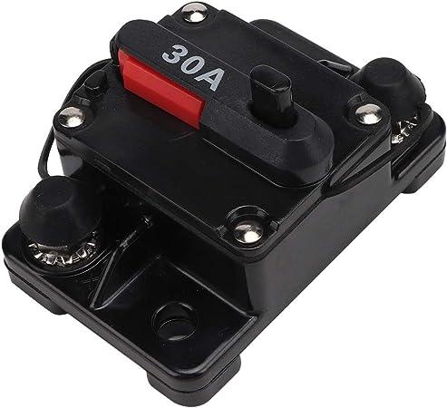 60A-250Manueller Reset-Leistungsschalter Auto Boat Audio Stereo Sicherung RSDE