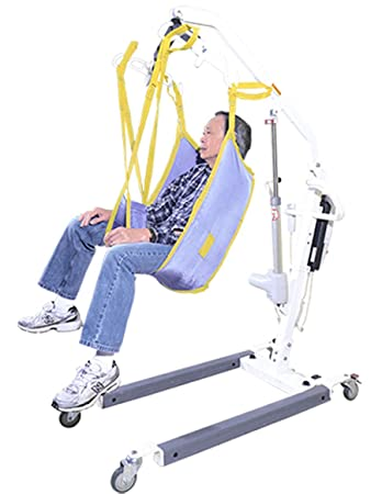 Amazon.com: Patient Lift Sling Without Head Support Use W/LIKO ...