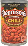 Dennison's, Chunky Chili Con Carne With Beans, 15oz Can (Pack of 6)