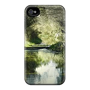 High-quality Durable Protection Cases For Case Iphone 5/5S Cover (forest Waterway)