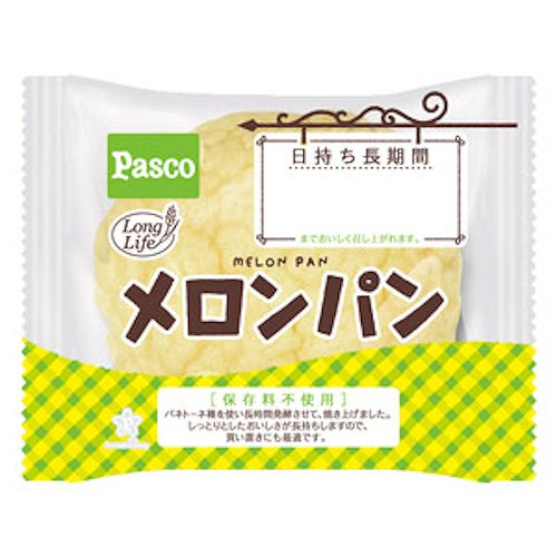 Pasco-Japanese-Melon-pan-Melon-taste-Bread-1-pack