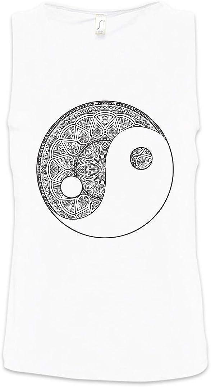 Urban Backwoods Mandala Yin Yang Hombre Camiseta Sin Mangas ...