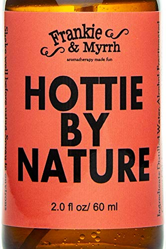 - Hottie By Nature - A Rosewood, Citrus, Lavender, and Vanilla Aromatherapy Spray/Light Perfume. Find your inner goddess!