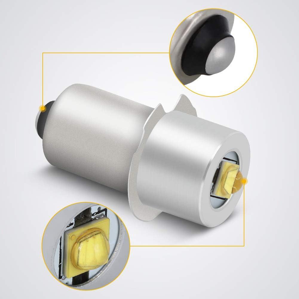 3V High Power Led Upgrade Birne Pr P13.5s 1 W 240 Lm Dc 3 V Cree Led Upgrade Birne Ersatz f/ür Taschenlampe Werkzeuge Laterne Arbeit Licht Led Conversion Kit