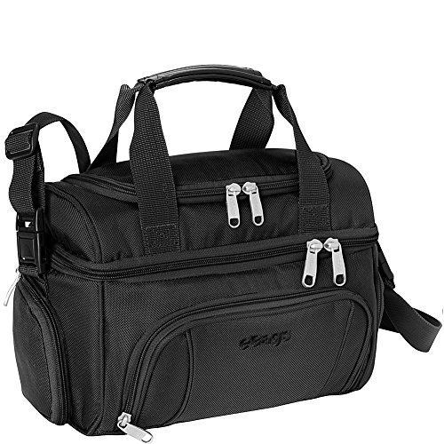 eBags Crew Cooler JR. - Soft Sided Insulated Lunchbox - For Work, Travel & Weekends - (Black)