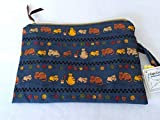 Cats Wet Bag, Cloth Diaper or Beach Zipper Wet Bag