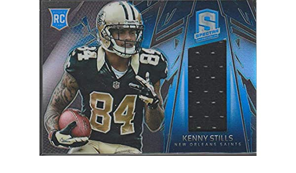 Amazon.com  2013 Spectra Kenny Stills Saints 7 49 Rookie Jersey Football  Card  218  Collectibles   Fine Art 5b5afcded