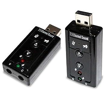 Tarjeta de Sonido Externa USB Sonido 3D 2.0