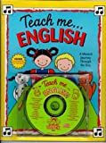 Teach Me English (Paperback and Audio CD): A Musical Journey Through the Day