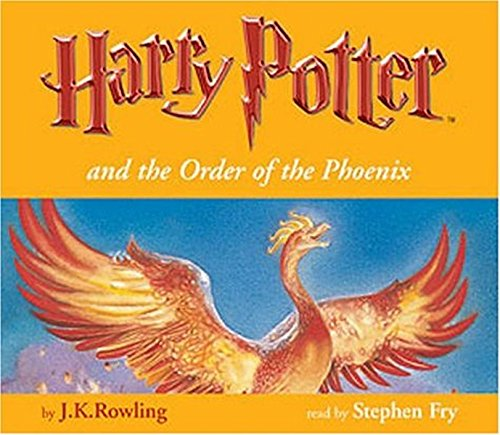 Harry Potter And The Order Of The Phoenix J K Rowling Stephen