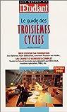 Le Guide des troisièmes cycles par Charzat