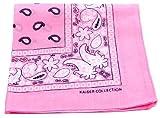"""Bandanas By The Dozen 100% Cotton, Head Wrap 22"""" x 22"""" (Lite Pink, 22"""" X 22"""")"""