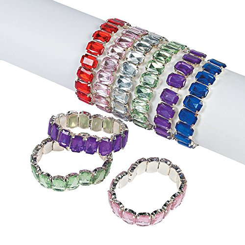 Fun Express Jumbo Jewel Bracelets