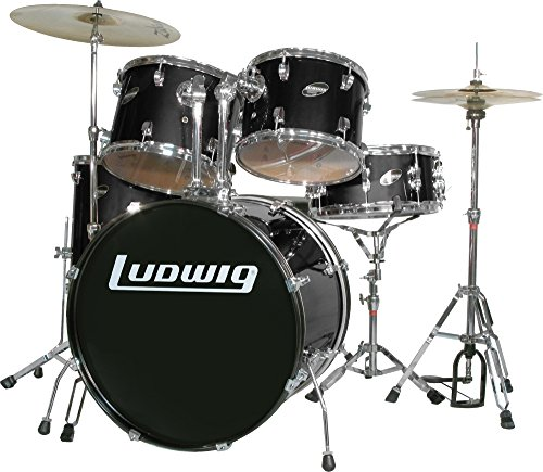ludwig-accent-series-complete-drum-set-black