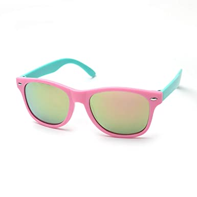 Age 12 Uv400 Kids Comfortable Years Kiddus Useful Sunglasses To Protection And Secure Girls Gift For 8 Old 0wPNynOmv8
