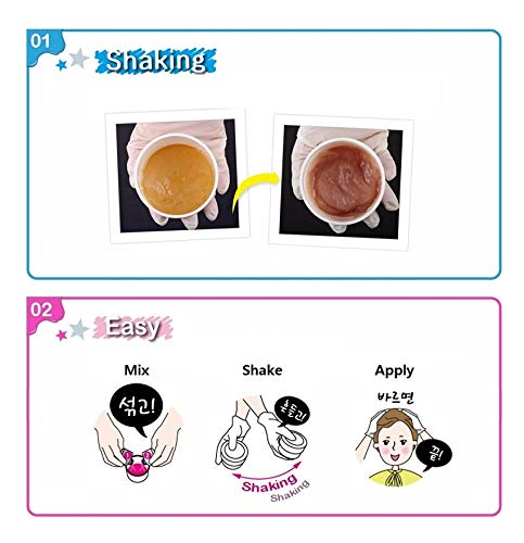 EZN Shaking Pudding Hair Color Korean Beauty - Smoky Ash Lavender 6.21 by EZN (Image #2)