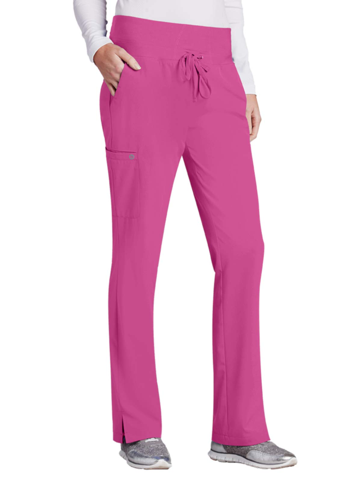 Barco One 5206 Midrise Cargo Pant Power Pink L Tall