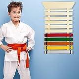 Aship Karate Belt Rack Martial Arts Belt Display