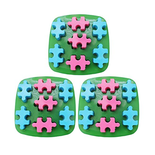 Baidecor Puzzle Silicone Chocolate Molds Candy Mold Set Of 3