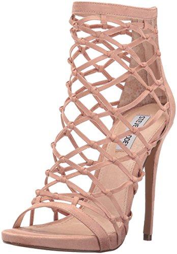 Steve Madden Women's Ursula Dress Sandal, Blush, 8 M US