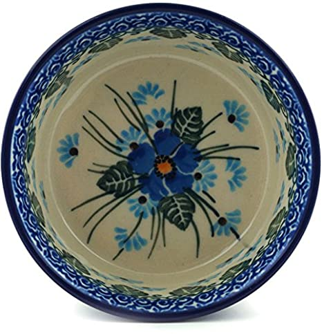 Amazon.com: Polish Pottery Small Bowl 4-inch made by Ceramika Artystyczna (Forget Me Not): Kitchen & Dining