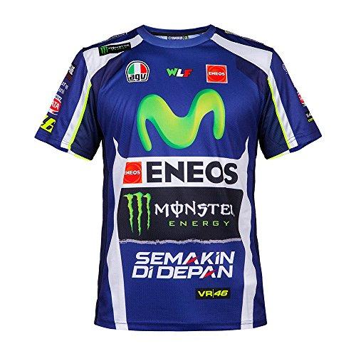 Valentino Rossi Sponsor Tee 2016 blue, L
