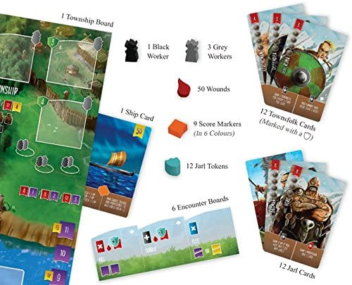 Renegade Game Studios RGS00588 Raiders of The North Sea: Fields of Fame - Juego de Mesa (Contenido en alemán): Amazon.es: Juguetes y juegos