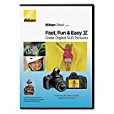 Nikon School DVD--Fast - Fun - & Easy IV Great Digital SLR Pictures for D3000 Camera