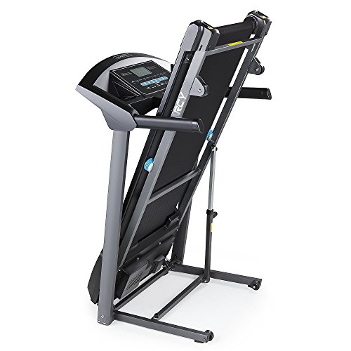 Marcy Folding Motorized Treadmill / Electric Running Machine Easy Assembly JX 650W