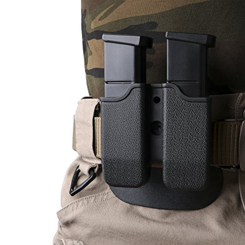 Elutong Tactical Double Mag. Pouch Holster 360 Degree Rotation Holder