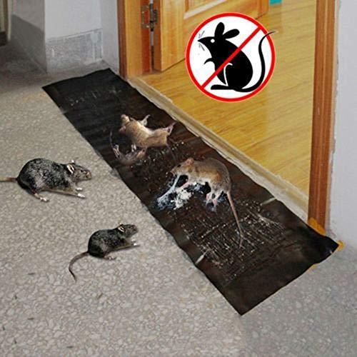 Yezijin 1/2/3/5/10Pcs Big Size Mice Mouse Rodent Glue Traps Board Super Sticky Rat Snake Bugs Safe (3pc)