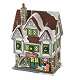 Department 56 Elf The Movie ''Santa's Toy Shop'' Lighted Building #4053057