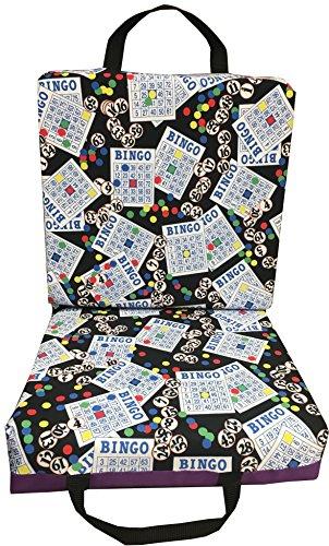 Bingo #1 Purple Bingo Double Seat Cushion