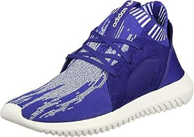 adidas Originals Tubular Defiant Primeknit Womens Trainers/Shoes - Black-Blue-8