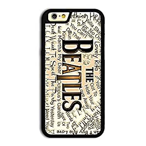 TPU iPhone 6 case protective skin cover with forever rock band The Beatles cool poster design #4