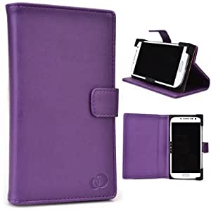 LG D605 Optimus L9 II Phone Case with Stand Purple
