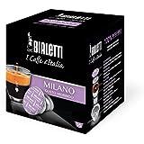 Bialetti 96080090/M Espresso Capsule Milano, alluminio, 16 pezzi