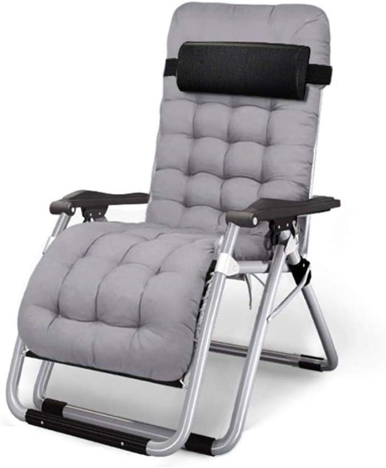 Maison Balcon Chaise,B,180x65x40cm m/étal Pause d/éjeuner Chaise Pliante Nap Casual GJZM Chaise Pliante Reclining Simple Retour Lazy Couch