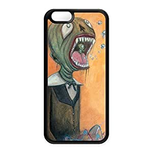 Screamer Black Silicon Case Rubber Case for Apple? iPhone 6 by Gus Fink + FREE Crystal Clear Screen Protector
