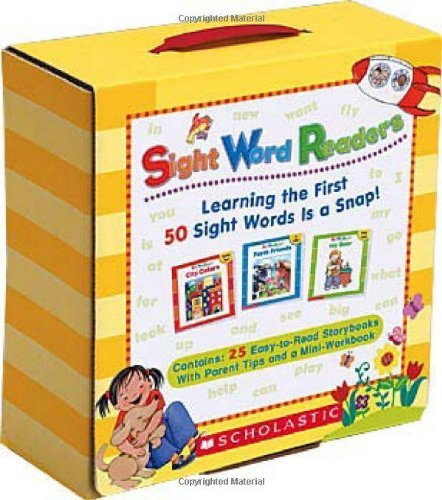 By Linda Ward Beech - Sight Word Readers Boxed Set: Learning the First 50 Sight Words Is a Snap! [With Mini-Workbook] ()