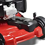 Jonsered L2821, 21 in. 160cc GCV160 Honda 3-in-1 Walk Behind Front-Wheel-Drive Mower 14 Powered by 160cc Honda GCV160 engine with 6.9 ft-lbs Gross torque Dual trigger control system allows you to operate with either hand, or split the effort between both. High-tunnel cutting deck design delivers premium cut quality and bagging performance while providing a close trim, every time.