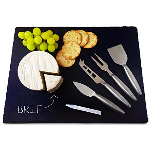 6 Piece Large Slate Cheese Server