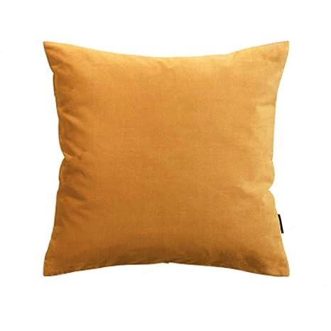Sofá Almohada Funda de almohada de terciopelo decorativo ...