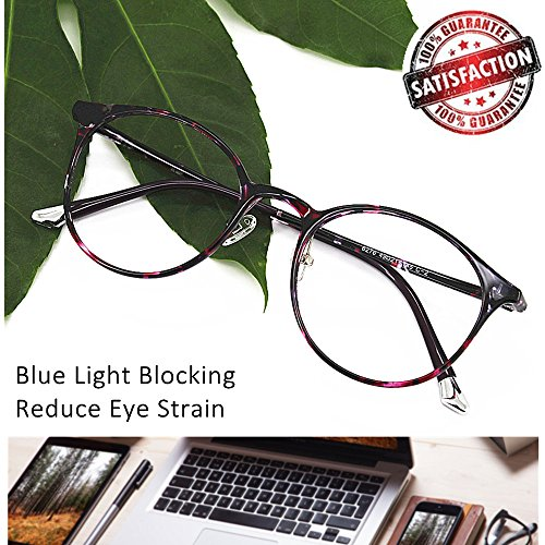 Reading Glasses 1.5 Blue Light Blocking Office Gaming Scr...