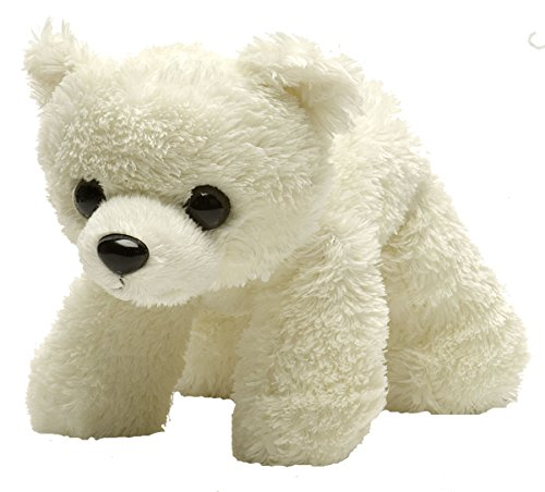 Wild Republic Polar Bear Plush, Stuffed Animal, Plush Toy, Gifts for Kids, Hug'Ems 7""