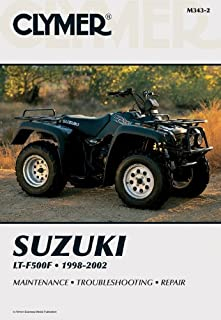 amazon com clymer repair manual for suzuki atv lt f500f 98 00 rh amazon com Suzuki Vinson Parts Suzuki LT 500 Parts